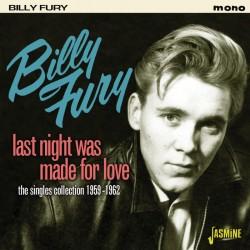 Billy FURY - Last Night Was...