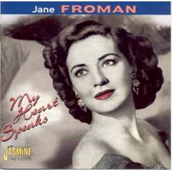 Jane FROMAN - My Heart Speaks