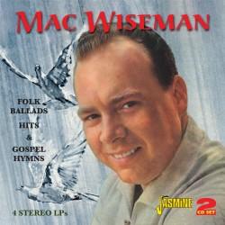 Mac WISEMAN - Folk Ballads,...